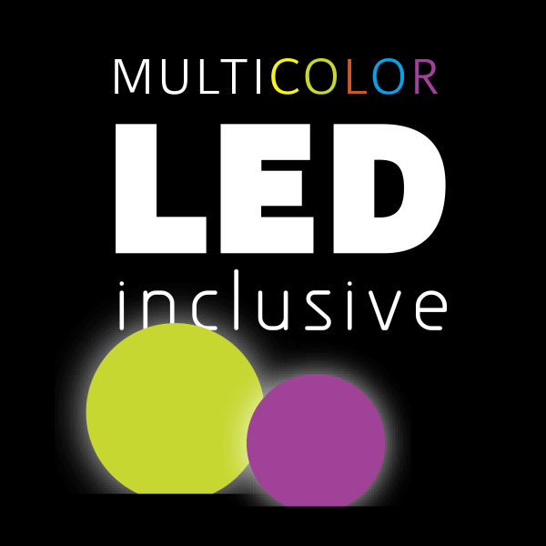 Inkl. Mulitcolor-LED